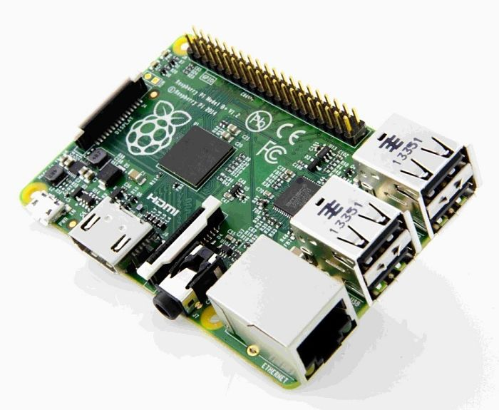 Внешний вид микрокомпьютера Raspberry Pi 2